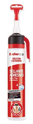 fischer - Sclm Adhesivo De Montaje/ (Bote de 200 ml), Transparente, Monodosis, 548816