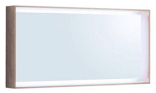 Keramag Geberit Citterio Lichtspiegel 500570JI1, 118,4x58,4x14cm, Holzstruktur Eiche beige
