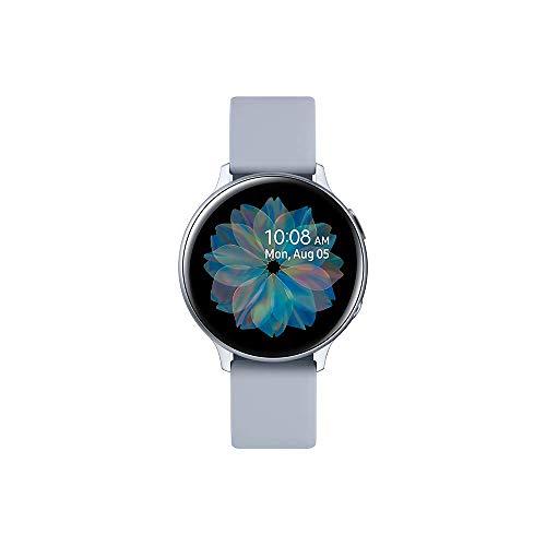 SAMSUNG SM-R820NZSAXEF Galaxy Watch Active 2 (Bluetooth) 44mm, Aluminum, Silver
