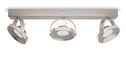 Philips Lighting Pendelleuchte, Metall, 4.5 W, Edelstahl gebürstet