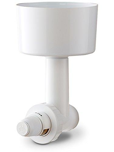 Getreide-Muehle von Messerschmidt mit Adapter für Kuechenmaschinen BOSCH MUM4 Serie, weiß. Stahl-Kegel-Mahlwerk. Bewaehrtes Zubehoer