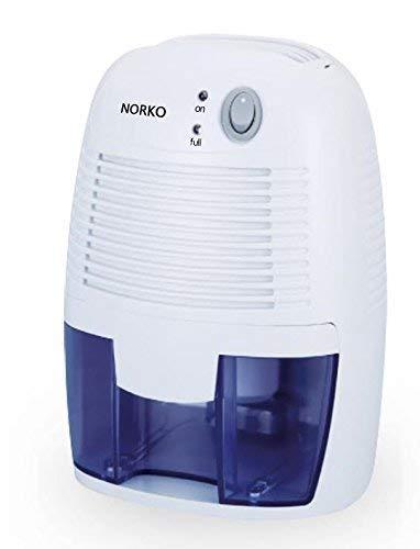 Norko Mini Deumidificatore 500ml Mini Capacità Ecocompatibile