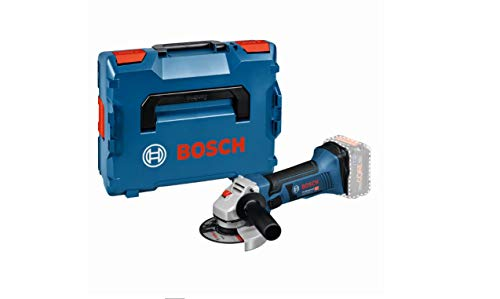 Bosch Rebarbadora GWS 18-125 V-LI + L-BOXX - 060193A308