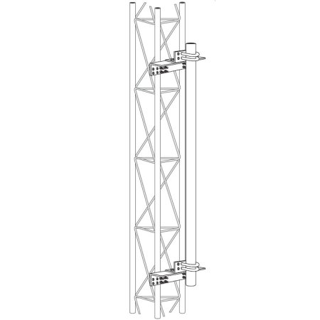 ROHN DM25G2 Tower Face Dish Mount for ROHN 25G Towers. Buy it now for 270.00