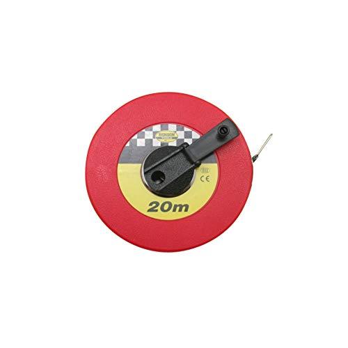 Bandmass 20 Meter Massband Messband 20m Rollmeter Landvermesser Maßband
