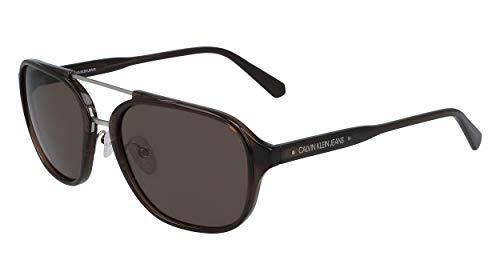 CALVIN KLEIN JEANS EYEWEAR CKJ19517S gafas de sol, marrón, 5618 para Hombre