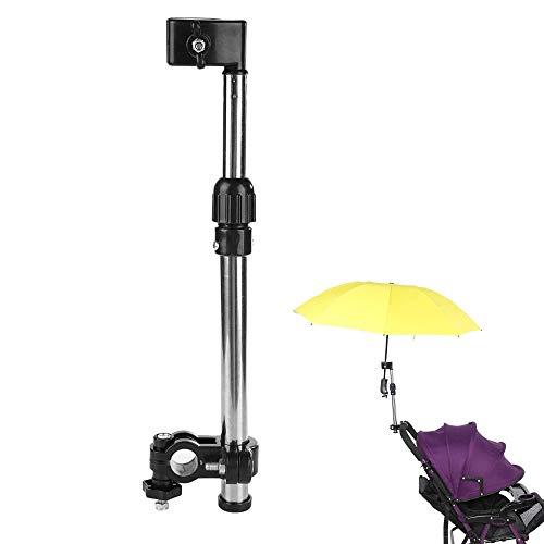 Schneespitze Regenschirmhalter,Regenschirm Halter für den Spaziergänger,Edelstahl-Regenschirmständer Einziehbarer Regenschirmhalter Fahrrad Regenschirm Strecken Berg Stand