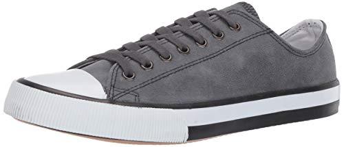 HARLEY-DAVIDSON FOOTWEAR womens Burleigh Sneaker, Grey, 8 US