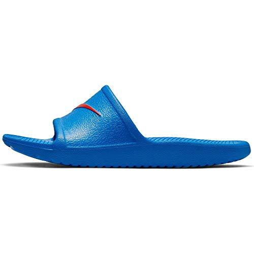 Nike KAWA Shower (GS/PS), Zapatos de Playa y Piscina para Niños, Multicolor (Photo Blue/Bright Crimson 000), 28 EU
