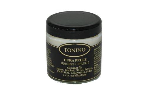Tonino Cura Pelle- Reinigung + Pflege für Taschen, Jacken, Ledermöbel (Neutral)