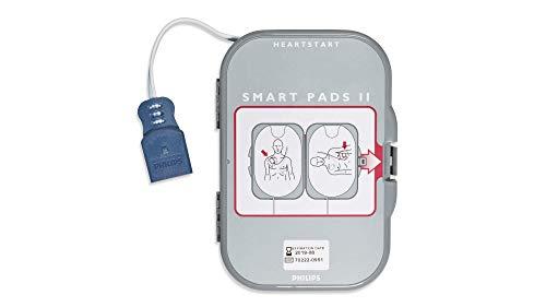 PHILIPS ERWACHSENEN- UND PÄDIATRISCHE ELEKTRODEN Heartstart Defibrillator Frx SMART PADS II Ersatzkartusche Plättchen 989803139261