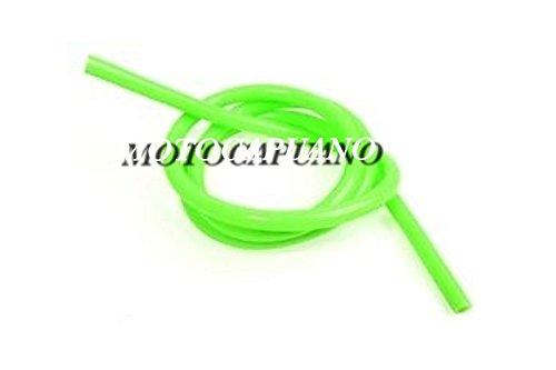 1 METRO DI TUBO BENZINA VERDE DM. 6 mm APE VESPA 50 125 SPECIAL R L PX SPRINT