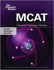 Mcat General Chemistry Review Publisher Princeton Review Pap Psc Edition