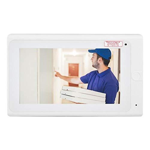 DAUERHAFT Video Door Bell 1000 TVL Interphone Cámara Anti-oxidación WiFi Video Door Bell, para(100-240V Australian regulations)