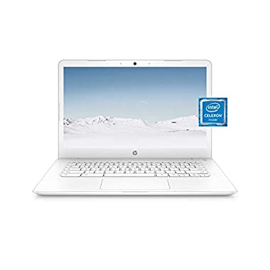 HP Chromebook 14 Laptop, Dual-core Intel Celeron Processor N3350, 4 GB RAM, 32 GB eMMC Storage, 14-inch FHD IPS Display…