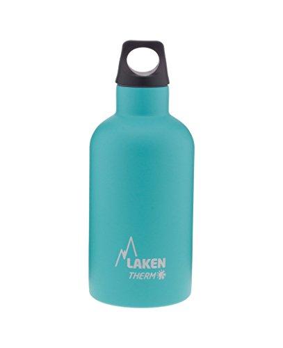 Laken Unisex - Futura Thermo voor volwassenen, 0,75 liter, BPA-vrij, herbruikbaar, herbruikbaar (smalle opening) Lakenfles 0,75 l
