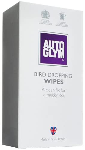 Autoglym Paquet de lingettes spéciales anti-excréments d'oiseaux