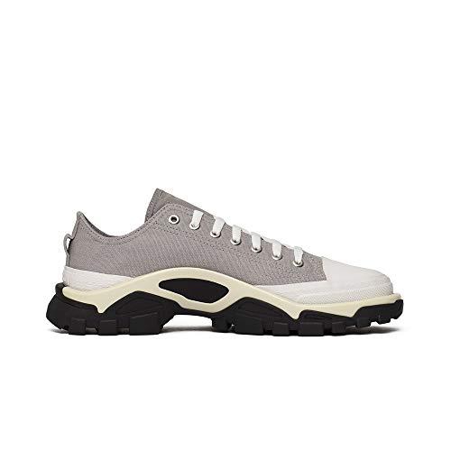 Adidas Originals RAF Simons Detroit Runner - Scarpe da ginnastica da uomo, colore: grigio e bianco, Grigio (Grigio e bianco), 43 1/3 EU