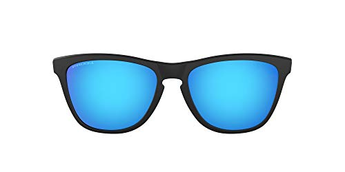 [オークリー] OAKLEY サングラス 0OO9245 メンズ マットブラック/プリズムサファイア 日本 54-(FREE サイズ)