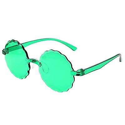 Rimless Cute Sunglasses for