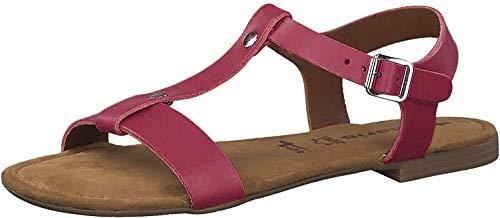 Tamaris 28149-24 - Sandalias para Mujer, Color Rojo, Talla 39 EU