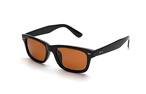 SomniLight FL-41 Outdoor Light Sensitivity Glasses for Photophobia and Migraines (Wayfarer Style) Polarized