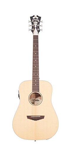 D'Angelico Premier Niagra Acoustic-Electric Guitar - Natural Spruce