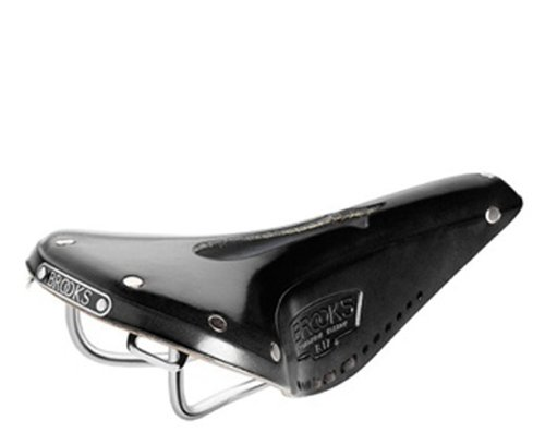Brooks B17Narrow Imperial Fahrradsattel, schwarz, M