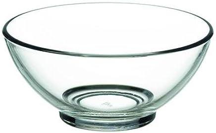 Preisvergleich für 6er Set Glasschalen mit plastik Deckel Schalen Glasschale Dessertschale