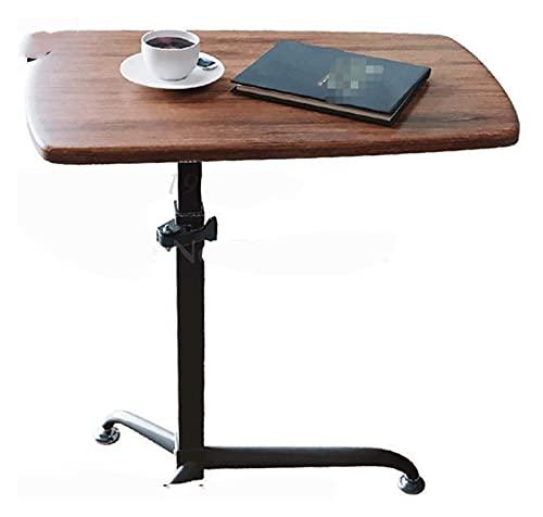 Mesa auxiliar Mesa con bandeja para cama o silla, mesa para computadora portátil Podio Mesa móvil Escritorio para hablar Escritorio para capacitación de maestros Escritorio elevador de pie simple Escr