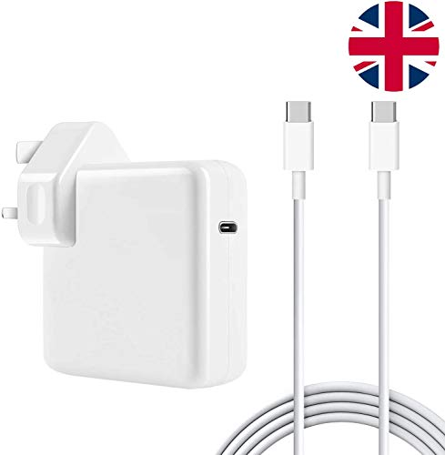 30W USB C Power Delivery (PD) Wall Charger, Charger Adapter Compatible with MacBook 2015Late 12-inch & Macbook Air Charger 2018Late Work with 30W & 29W USB C Tablets & iPhone 11 & iPad Pro