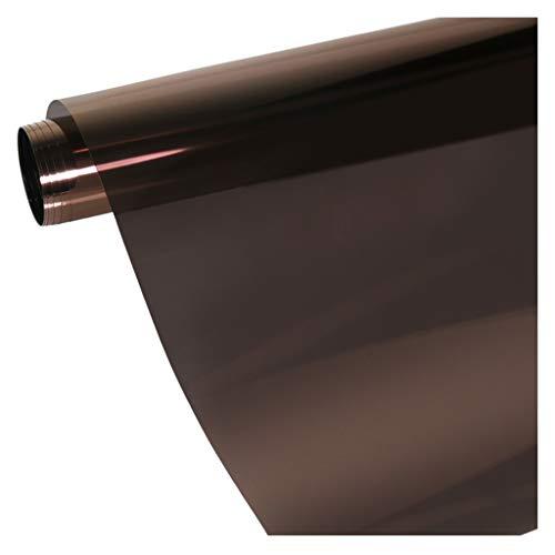 Window Films isolatiefolie zonwering raamfolie sticker unidirectioneel balkon slaapkamer gebouw parasol eenvoudig gebruik 75 x 500 cm
