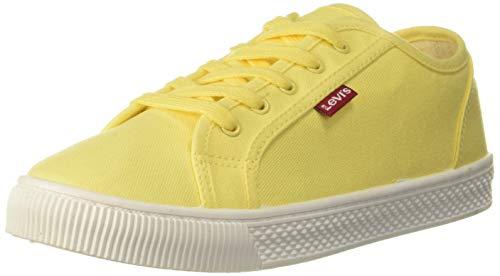 Levi's Women Malibu Beach S Pastel Yellow Sneakers-7.5 UK (41 EU) (9 US) (38374-0060)