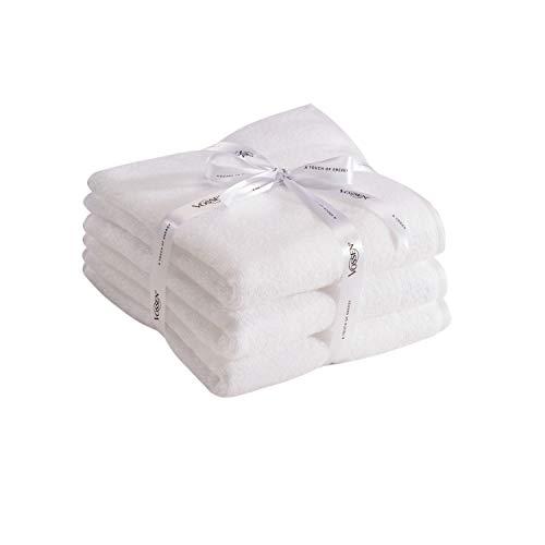 Vossen Smart Towel - antibakteriell - weiß, 50 x 100 cm