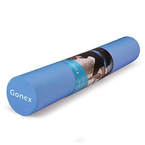 Gonex Foam Roller 45cm 90cm Rodillo de Espuma para Ejercicios de Espalda de Fitness, Estiramientos de Masaje y Pilates Yoga