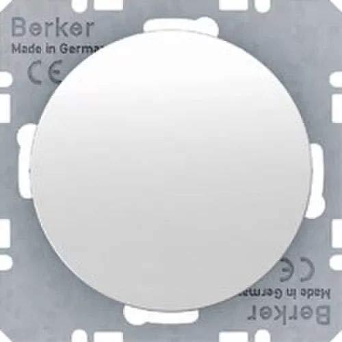 Hager 10092089–Blindabdeckung R1/R3mit Deckel Central weiß Polar glänzend