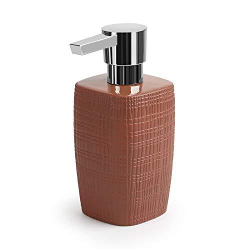 NYKK Dispensadores de loción Cerámica de la Botella de líquido de jabón para el hogar de cerámica Tipo de Prensa de Prensa de emulsión dispensador de emulsión dispensador de jabón jabón (Color : C)