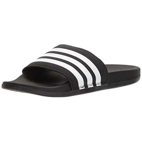 adidas Adilette CF+ Mono W, Sandali da Donna, Nero/Bianco/Nero, Nero (Nero/Bianco), 36 EU
