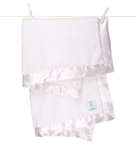 "Little Giraffe Luxe Stroller Baby Blanket, Pink, 29"" x 35"""