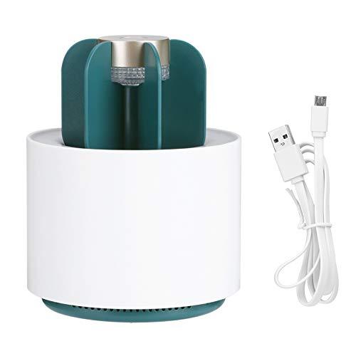 DERCLIVE Lámpara para matar mosquitos portátil con alimentación USB, repelente de mosquitos eléctrico para uso doméstico