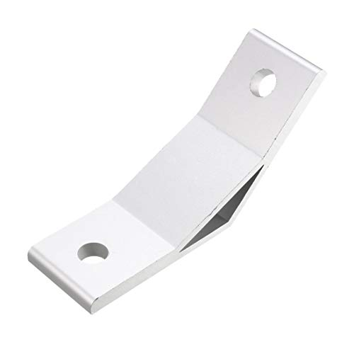 uxcell 4040 Aluminum Corner Brackets Profile Corner Joint Connectors Corner Braces 135 Degree Angle 2Pcs