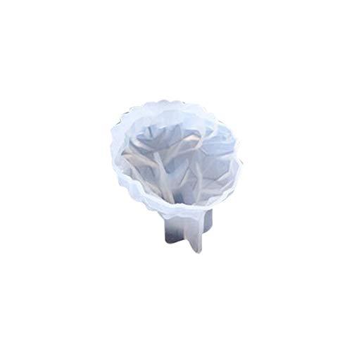 Ocobudbxw 6 Styles 3D Dessin animé Coeur Tête De Loup Lion Lion Forme Animale Haut Miroir En Silicone Moule DIY Fondant Gâteau De Savon Moule Décoration Outils Outils Artisanat