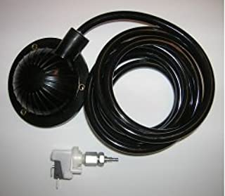 Air Foot Pedal & Pressure Switch Combo Set - For Drain Cleaning Machines
