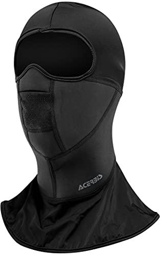 Acerbis 0016527.090.067 Sous-casque thermique Bride L XL, noir