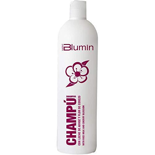 Tahe Blumin Urban Champú de Leche de Arroz y Flor de Cerezo para Cabellos Normales o Secos Brillo y Aroma Agradable 1000 ml