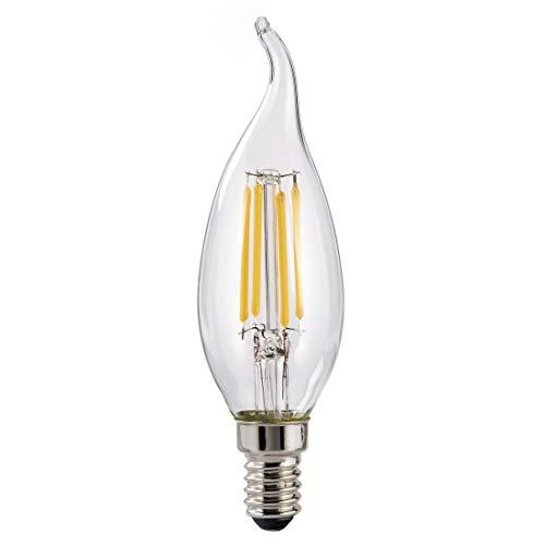 Xavax 00112603 40W E14 A++ Weiß LED-Lampe, Edelstahl, transparent, A++, 32 mA, 4 kWh, 3,5 cm