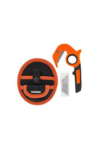 Gerber Cortador multiuso con funda, Vital Zip EAB Hunting Tool, Orange, 31-003645