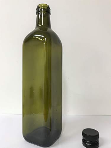 12 pezzi bottiglie IN VETRO SCURO UVAG marasca olio liquore 750 ml con tappo