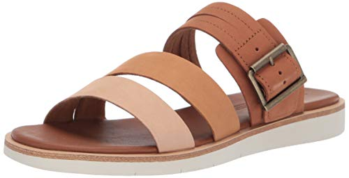 Price comparison product image Timberland Women's Adley Shore Slide Summer Flat Sandals,  Medium Brown / Multi,  6.5 Medium US
