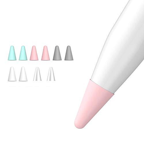 Zarfmiya Estuche para Puntas de Repuesto de Silicona de 10 Piezas Funda Protectora para Pencil 1St 2Nd Estuche de LáPiz óPtico con Pantalla TáCtil como Muestra